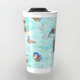 Ceramic Travel Mug. Available in 12 oz.